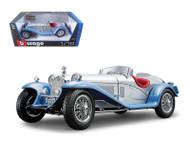 1932 ALFA ROMEO 8C 2300 SPIDER TOURING RED 1/18 SCALE DIECAST CAR MODEL BY BBURAGO 12063