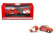 1967 VW Volkswagen Coke Coca Cola Tear Drop Trailer 1/43 Scale Diecast Car Model By Motor City Classics 440032