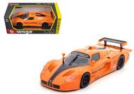 Maserati MC 12 Orange 1/24 Scale Diecast Car Model By Bburago 21078