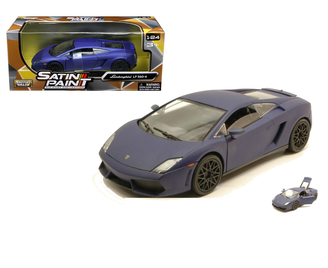 Lamborghini Gallardo Lp 560 4 Matt Purple 1 24 Scale Diecast Car