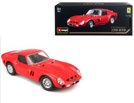 Ferrari 250 GTO Red Original Series 1/18 Scale Diecast Car Model By Bburago 16602