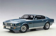 1965 ASTON MARTIN V8 VANTAGE CHICHESTER BLUE 1/18 SCALE DIECAST CAR MODEL BY AUTOART 70223