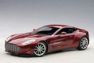 ASTON MARTIN ONE 77 DIAVOLO RED 1/18 SCALE DIECAST CAR MODEL BY AUTOART 70245