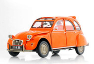 Norev 1/18 Scale 1975 Citroen 2CV 6 Orange Diecast Car Model 181514