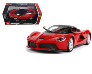 LaFerrari F70 Red La Ferrari 1/24 Scale Diecast Car Model By Bburago 26001