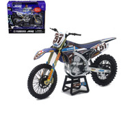 Yamaha JGR MX Justin Barcia #51 Motorcycle Dirt Bike 1/12 Scale By Newray 57713