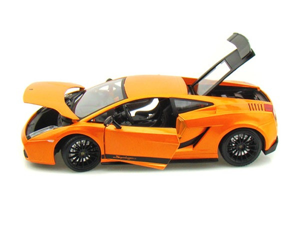 Lamborghini Gallardo Superleggera Orange 1 18 Scale Diecast Car