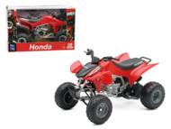 2009 Honda TRX 450R Red ATV Motorcycle 1/12 Scale Diecast Model By NewRay 57093