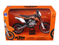 KTM 450 SX-F Diecast Motorcycle Model 1/10 Scale By NewRay 57623