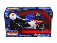 Suzuki GSX-R1000 #1 Makita Suzuki Rockstar Bike Motorcycle 1/12 Scale By NewRay 57027