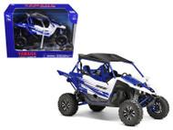 Yamaha YXZ 1000R Triple Cylinder Blue Buggy 1/18 Scale Diecast Model By NewRay 57813