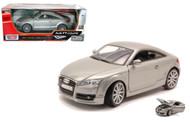 2007 Audi TT Coupe Grey 1/18 Scale Diecast Car Model By Motor Max 73177