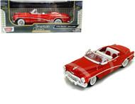 1953 Buick Skylark Convertible Red 1/18 Scale Diecast Car Model By Motor Max 73129