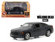 Daryl Dixon's 2006 Dodge Charger Police The Walking Dead 1/43 Scale By Greenlight 86505