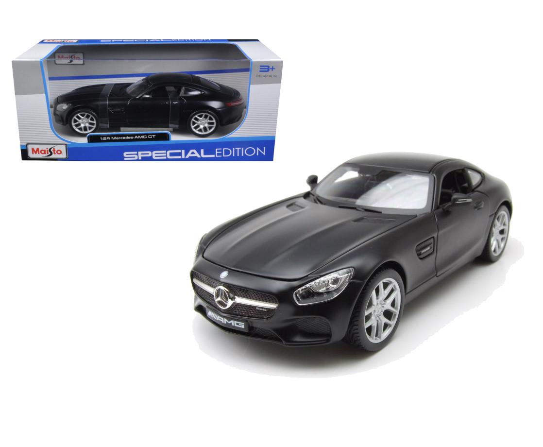 Mercedes AMG GT Black scale 1:24 model car diecast toy car