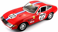 Ferrari GTB4 Competizione #22 Red 1/24 Scale Diecast Car Model By Bburago 26303