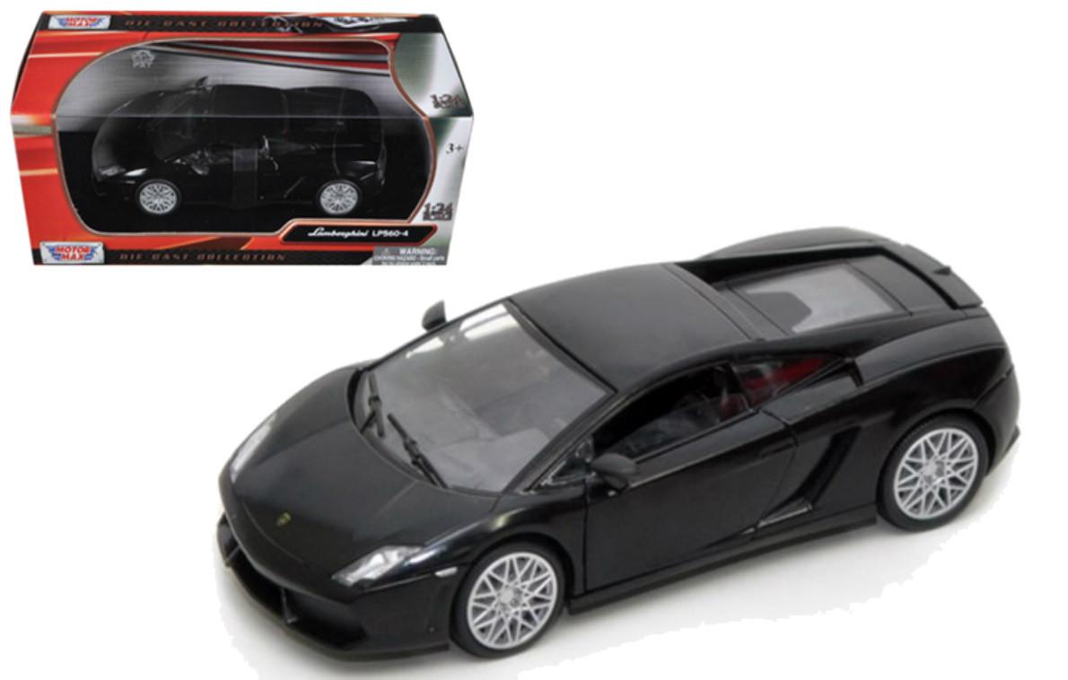 Lamborghini Gallardo Lp 560 4 Matt Black 1 24 Scale Diecast Car