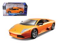 Lamborghini Murcielago LP640 Orange 1/24 Scale Diecast Car Model By Maisto 31292