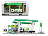 BP Service Gas Station With Tanker Play Set 1/64 Scale By RMZ City 24444 BP