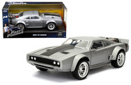 Doms Ice Charger 1/24 Scale Diecast Car Model By Jada Toys 98291