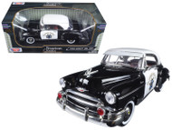 1950 Chevrolet Bel Air CHP California Highway Patrol Police Car 1/18 Scale Diecast Car Model By Motor Max 79007