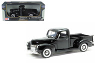 1940 Ford Pickup Truck Black 1/18 Scale Diecast Model By Motor Max 73170
