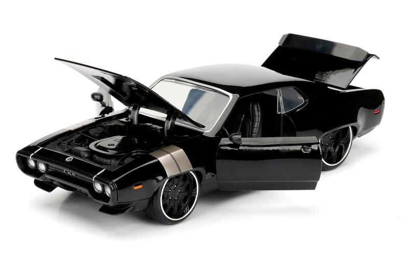 Jada Plymouth GTX Dom/'s Fast and Furious 98292 1//24