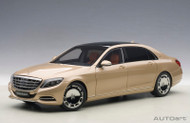 Mercedes Benz Maybach S-Klasse S600 Champagne Gold 1/18 Scale By AUTOart 76294