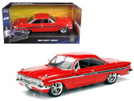Chevrolet Impala Red Fast & Furious 1/24 Scale Diecast Car Model 98426