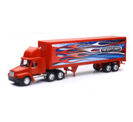 Freightliner Century Class Patriotic Semi Truck & Trailer 1/32 Scale By Newray 12353