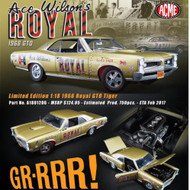 1966 Pontiac GTO Tiger Drag Car Copper Ace Wilsons Royal 1/18 Diecast Car Model By ACME A 1801206