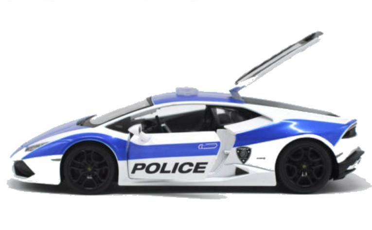 Lamborghini Huracan Lp610 4 Police Authority 1 24 Scale Diecast Car