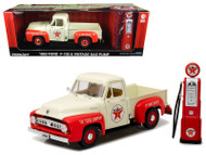 1953 Ford F-100 Truck Texaco Vintage Texaco Gas Pump 1/18 Scale Diecast Model By Greenlight 12991