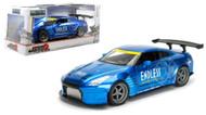 2009 Nissan GT-R R35 Ben Sopra Blue JDM Tuners 1/24 Scale Diecast Car Model By Jada 98647