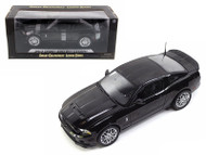 2013 Ford Mustang Shelby GT500 Black Chrome Wheels 1/18 Scale Diecast Car Model By Shelby Collectibles SC 392
