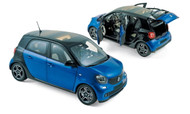 2015 Smart Forfour 1/18 Scale Diecast Car Model By Norev 183435