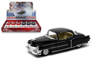1953 Cadillac Series 62 Coupe Box Of 12 1/43 Scale By Kinsmart KT5339D
