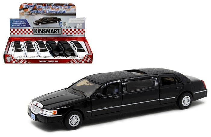 1999 Lincoln Town Car Stretch Limousine Box Of 6 1 32 Scale By
