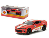 2017 Chevy Camaro SS Shell Oil #16 1/24 Scale Diecast Car Model By Greenlight 18239