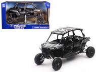 Polaris RZR XP 4 Turbo EPS 4 Seater Titanium Matt Metallic 1/18 Scale Model By Newray 57843 C