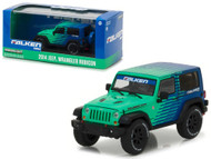 2014 Jeep Wrangler Rubicon Falken Tires 1/43 Scale Diecast Model By Greenlight 86090