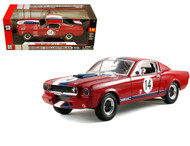 1966 Ford Shelby Mustang GT350R #14 1/18 Scale Diecast Car Model By Shelby Collectibles SC363