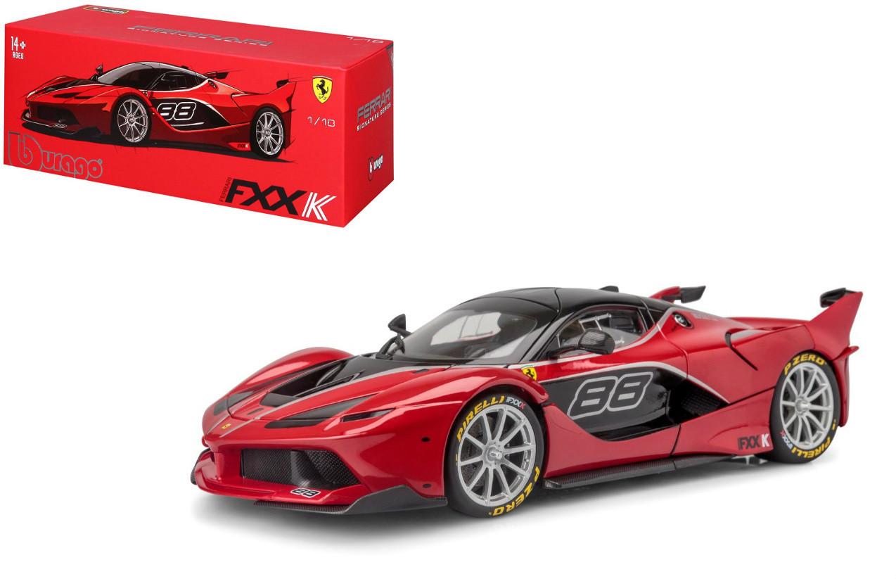 Ferrari Fxx K Red Signature Series 1 18 Scale Diecast Car Model Bburago 16907