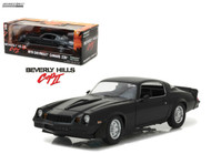 1978 Chevy Camaro Z28 Beverly Hills Cop II 1/18 Scale Diecast Car Model By Greenlight 13501