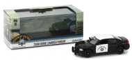 2008 Dodge Charger Police Car CHP California Highway Patrol 1/43 Scale By Greenlight 86087