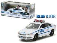 2010 Chevy Impala NYPD Police Car Blue Bloods 1/43 Scale Greenlight 86509