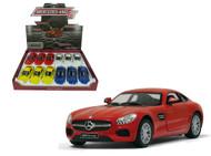 Mercedes Benz AMG GT Car 1/38 Scale BOX Of 12 Kinsmart 5388