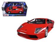 Lamborghini Murcielago Red 1/24 Scale Diecast Car Model By Maisto 31238