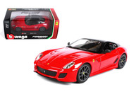 Ferrari 599 GTO Red 1/24 Scale Diecast Car Model By Bburago 26019