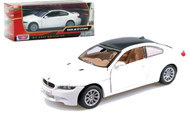 BMW M3 E92 Coupe White 1/24 Scale Diecast Car Model By Motor Max 73347